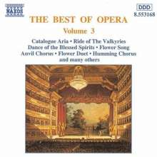 Best of Opera Vol.3, CD