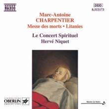 Marc-Antoine Charpentier (1634-1704): Messe des morts, CD