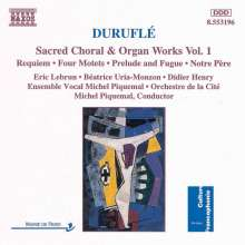 Maurice Durufle (1902-1986): Orgelwerke Vol.1, CD