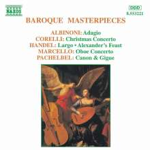 Baroque Masterpieces, CD