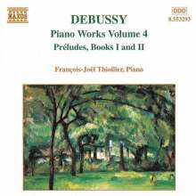 Claude Debussy (1862-1918): Klavierwerke Vol.4, CD