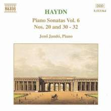 Joseph Haydn (1732-1809): Klaviersonaten H16 Nr.20 and 30-32, CD