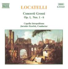 Pietro Locatelli (1695-1764): Concerti grossi op.1 Nr.1-6, CD