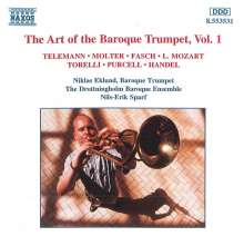 Niklas Eklund - Art of Baroque Trumpet 1, CD