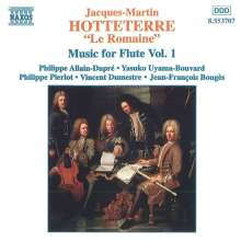 Jacques Hotteterre (1674-1763): Pieces pour la Flute Traversiere Vol.1, CD