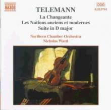 Georg Philipp Telemann (1681-1767): Suiten für Orchester, CD