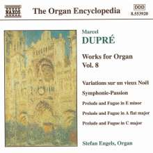 Marcel Dupre (1886-1971): Orgelwerke Vol.8, CD