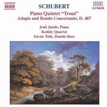 Schubert:trout Quintet/adag, CD