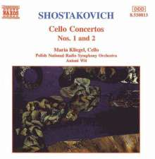 Dimitri Schostakowitsch (1906-1975): Cellokonzerte Nr.1 & 2, CD