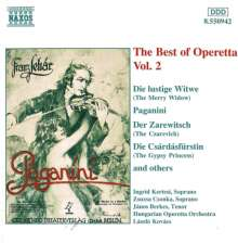Best of Operetta 2, CD