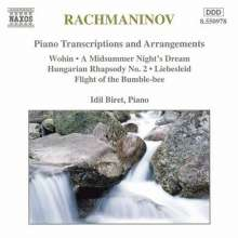 Sergej Rachmaninoff (1873-1943): Transkriptionen, CD