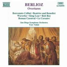 Hector Berlioz (1803-1869): Ouvertüren, CD