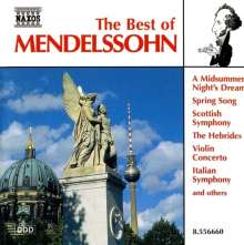 Best of Mendelssohn, CD