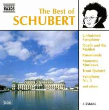 Best of Schubert, CD