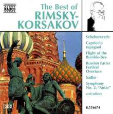 Best of Rimsky-Korssakoff, CD
