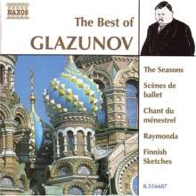 Best of Glasunow, CD