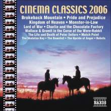 Cinema Classics 2006, CD