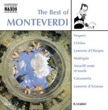 The Best of Monteverdi (Naxos), CD