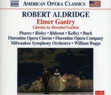 Robert Livingston Aldridge (geb. 1954): Elmer Gantry (Oper in 2 Akten), 2 CDs
