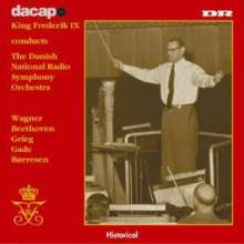 King Frederik IX conducts the Royal Danish Orchestra, 2 CDs