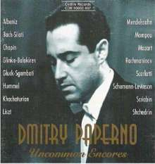 Dmitry Paperno - Uncommon Encores, CD