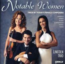 Lincoln Trio - Notable Women, CD