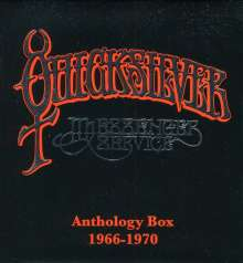 Quicksilver Messenger Service: Anthology 1966-1970 (3 CD + DVD), 3 CDs