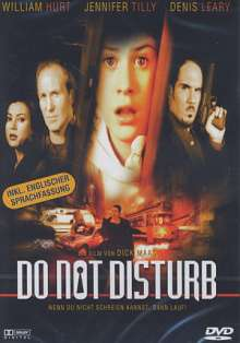 Do Not Disturb (1999), DVD