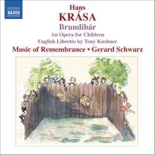 Hans Krasa (1899-1944): Brundibar (Kinderoper), CD