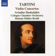 Tartini / Deskalakis Co: Violin Concertos, CD