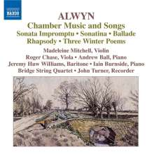William Alwyn (1905-1985): Kammermusik & Lieder, CD