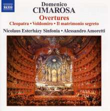 Domenico Cimarosa (1749-1801): Ouvertüren Vol.1, CD