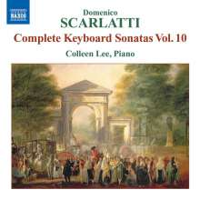 Domenico Scarlatti (1685-1757): Klaviersonaten Vol.10, CD