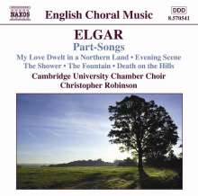 Edward Elgar (1857-1934): Part-Songs, CD