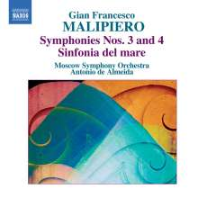 Gian Francesco Malipiero (1882-1974): Symphonien Vol.1, CD