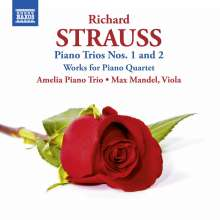 Richard Strauss (1864-1949): Klaviertrios Nr.1 & 2, CD