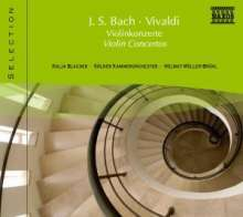 Naxos Selection: Bach/Vivaldi - Violinkonzerte, CD