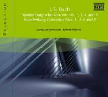 Naxos Selection: Bach - Brandenburgische Konzerte, CD