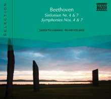 Naxos Selection: Beethoven - Symphonien Nr.4 & 7, CD