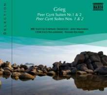 Naxos Selection: Grieg - Peer Gynt-Suiten Nr.1 & 2, CD