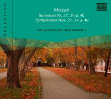 Naxos Selection: Mozart - Symphonien Nr.27,36,40, CD