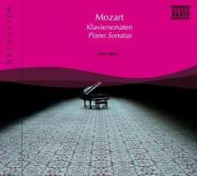 Naxos Selection: Mozart - Klaviersonaten, CD