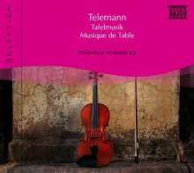 Naxos Selection: Telemann - Tafelmusik, CD