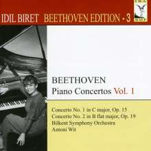 Idil Biret - Beethoven Edition 3/Klavierkonzerte Vol.1, CD
