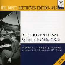 Idil Biret - Beethoven Edition 14 & 15/Symphonien Vol.5 & 6, 2 CDs