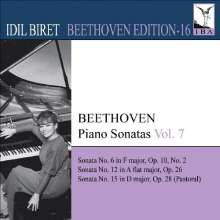Idil Biret - Beethoven Edition 16/Klaviersonaten Vol.7, CD