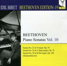 Idil Biret - Beethoven Edition 19/Klaviersonaten Vol.10, CD