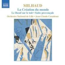 Darius Milhaud (1892-1974): La Creation du Monde-Ballettmusik, CD