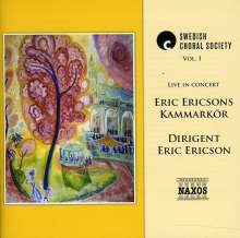 Eric Kammarkor Ericson: Vol. 1-Swedish Choral Society, CD