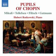 Hubert Rutkowski - Pupils of Chopin, CD